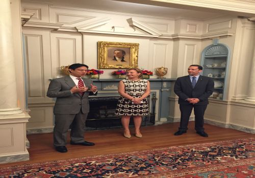 US Department of State (July 22, 2015): Farewell reception for H.E. Ambassador of B&H to the USA Jadranka Negodic (more info).